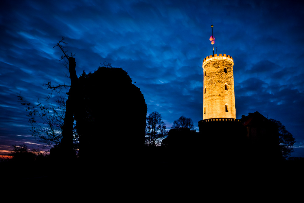 sparrenburg castle - early morning