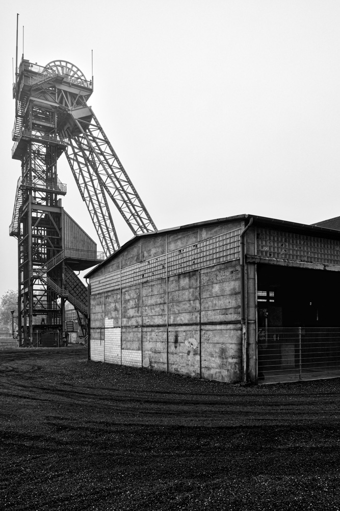 coal mine Westfalen - ahlen, germany