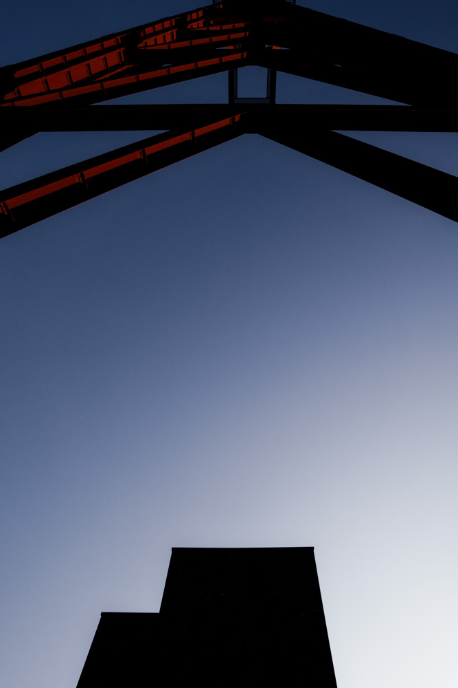 monolith - architectural photography at zeche zollverein